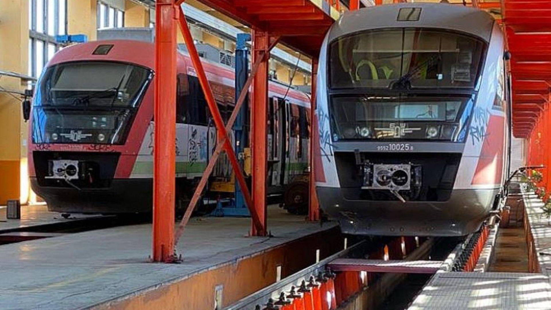 Alstom започва ремонта на влаковете на БДЖ в началото на 2021 г.