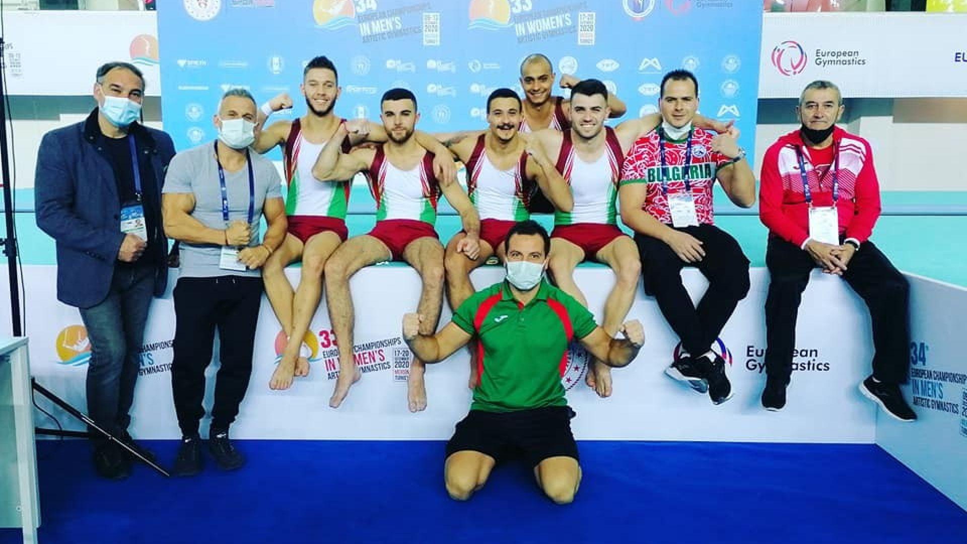 България спечели исторически медал на Европейското по спортна гимнастика