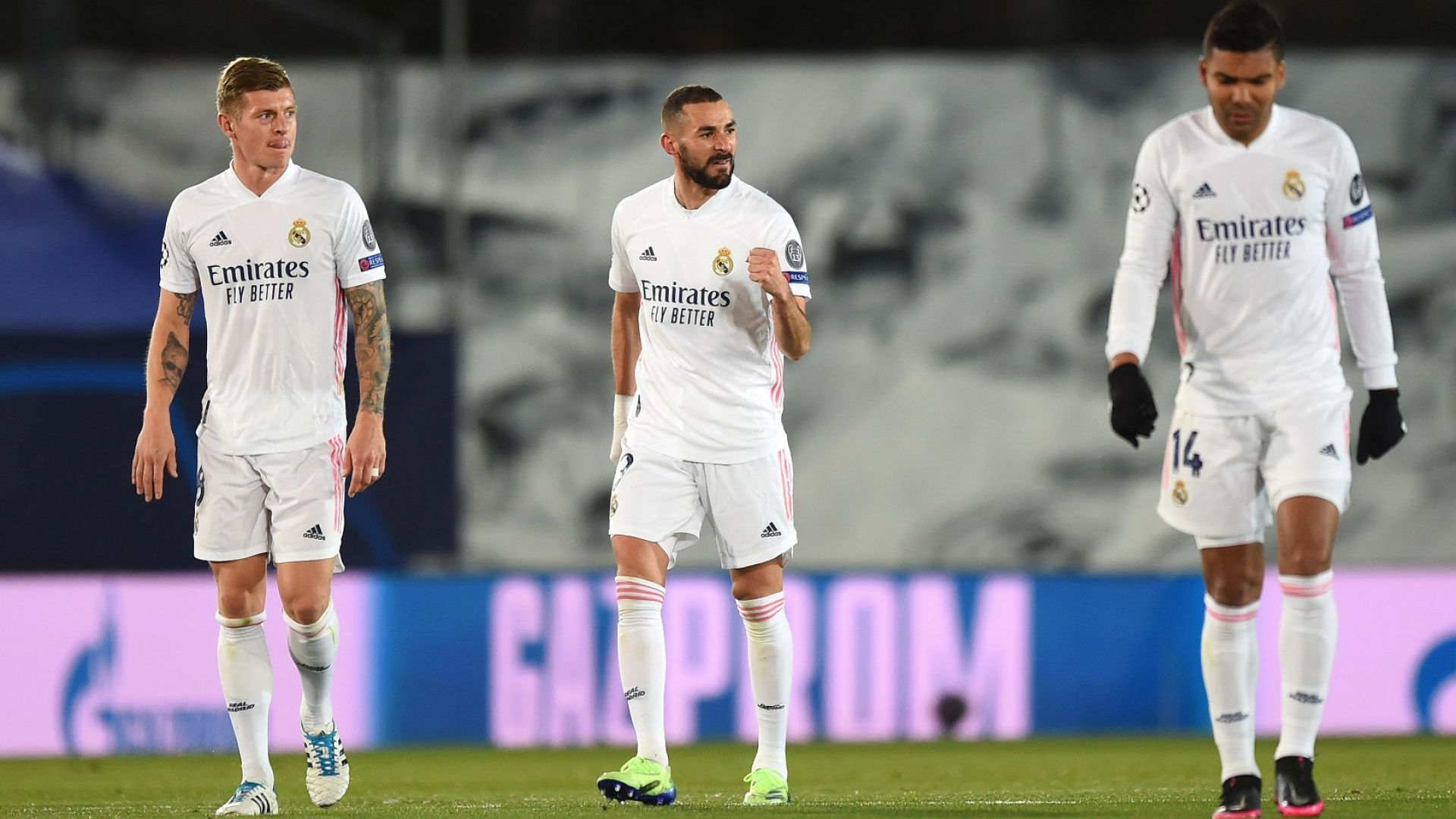 Бензема качи Реал на последния влак за осминафиналите, Интер го изпусна