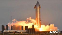 4К видео със забавени кадри показва взрива на Starship SN10