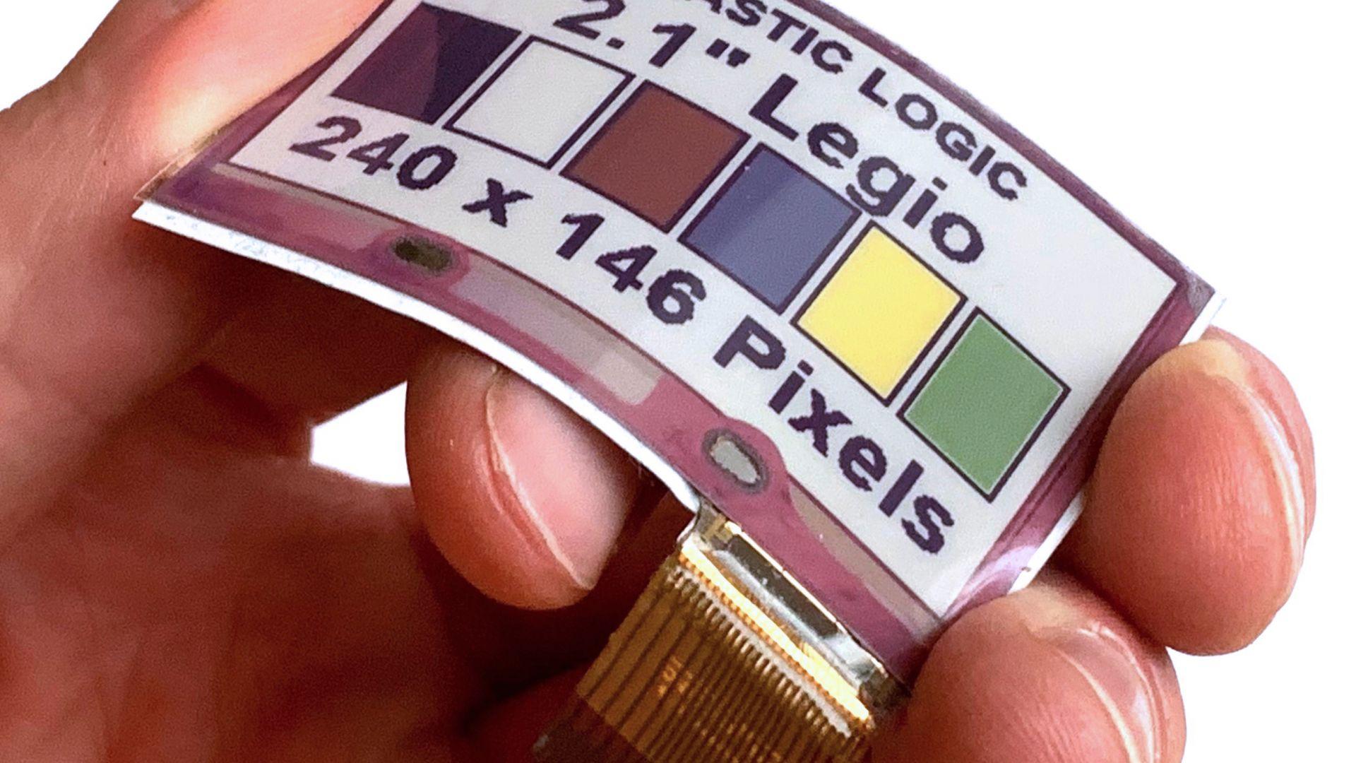 Създадоха цветен и гъвкав E Ink дисплей