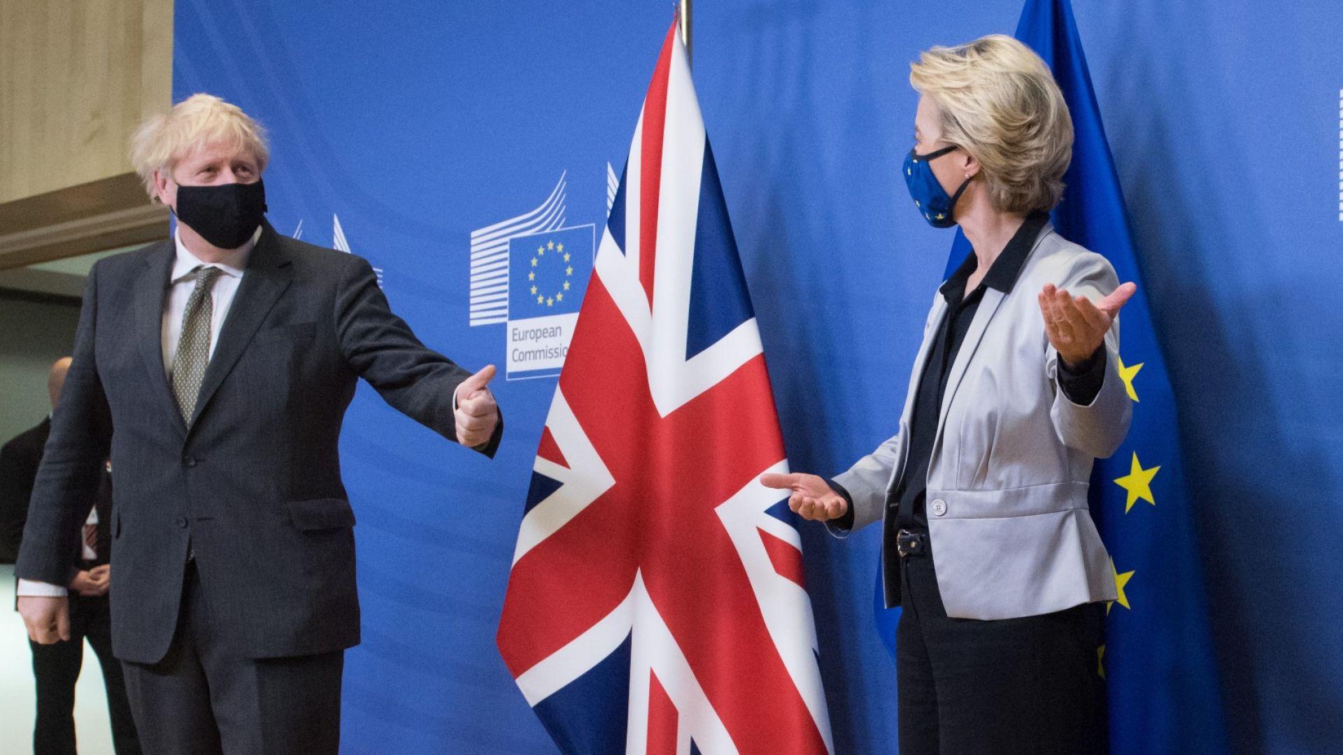 Търговската сделка между Лондон и Брюксел още не е факт, риболовът я спъна