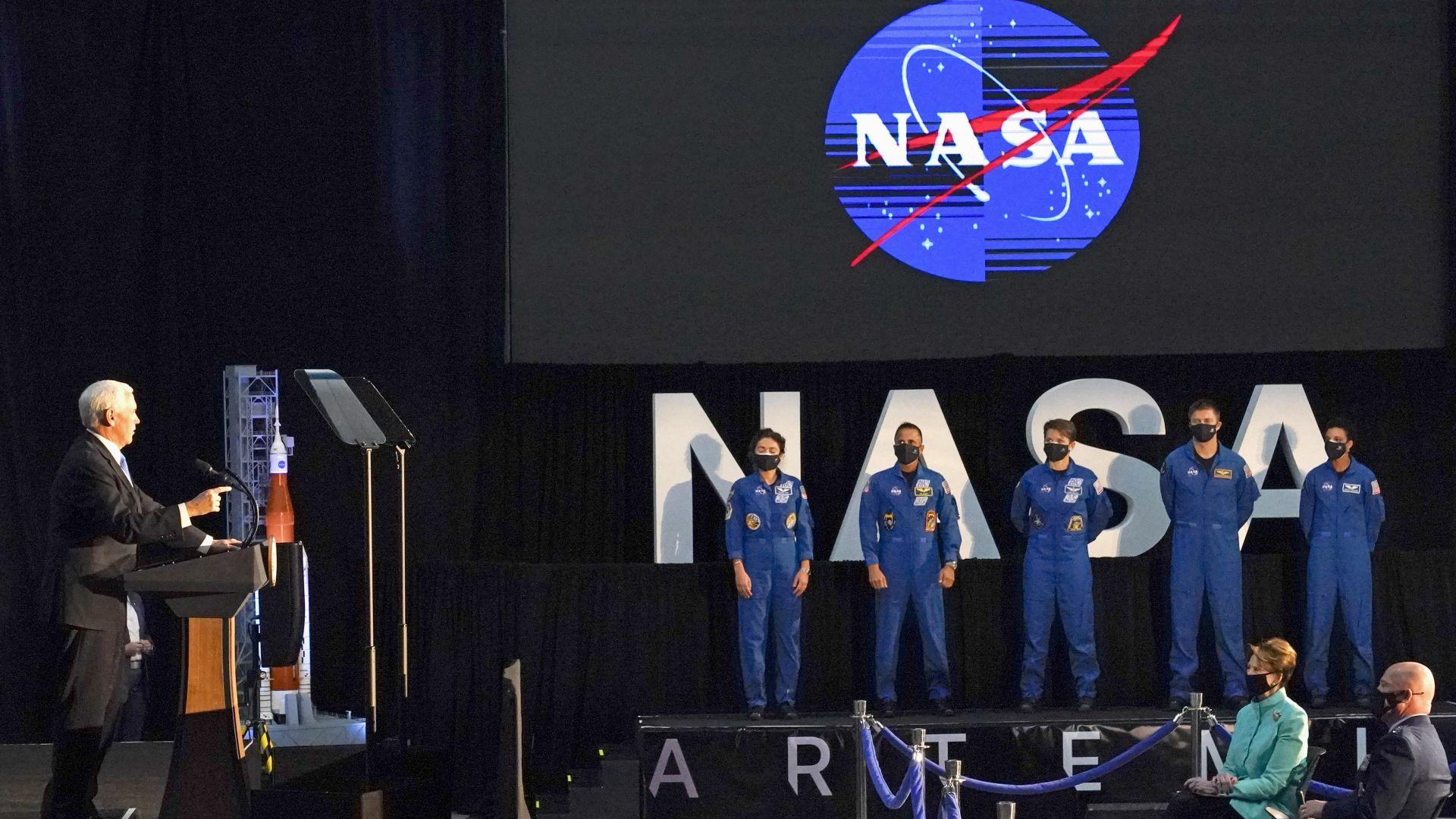 """НАСА представи астронавтите за лунната програма """"Артемида"""""""