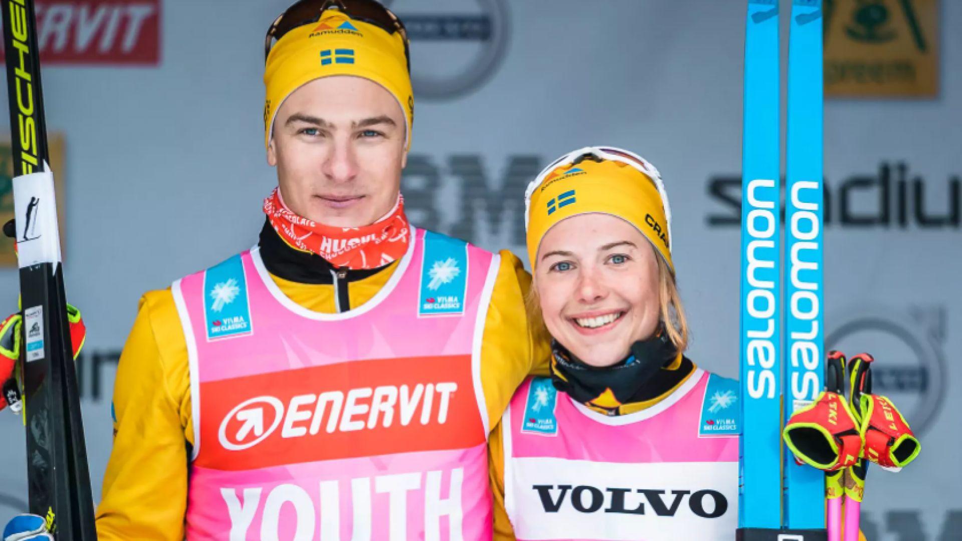 Шведски ски-бегач сам си призна за залог и го наказаха