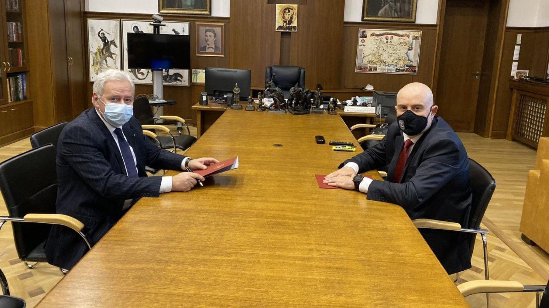 КРИБ и главният прокурор подписаха Меморандум за сътрудничество