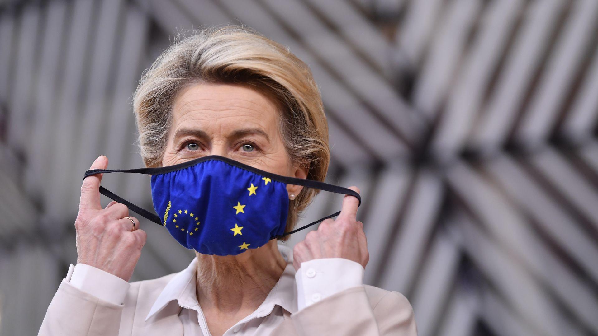 Урсула фон дер Лайен: Началото на ваксинацията е момент на единство за ЕС