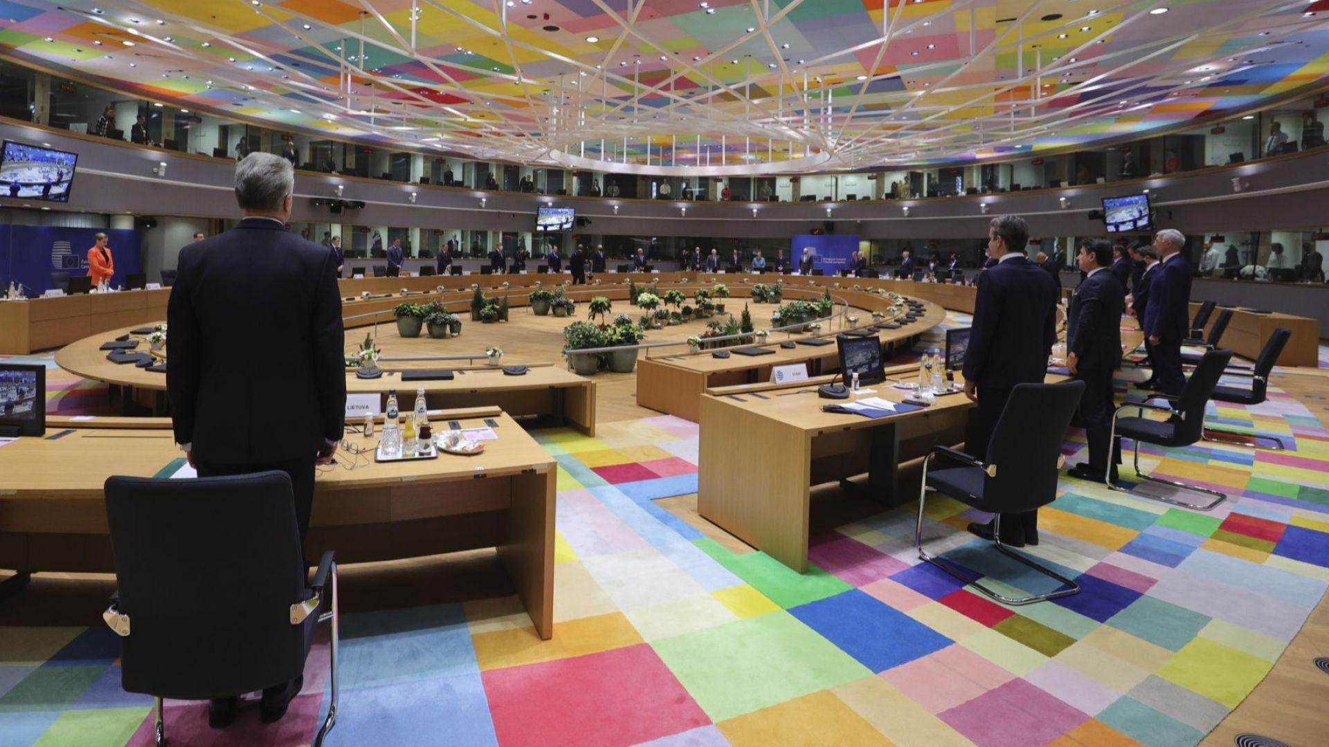 Последният за годината Европейски съвет започна без двама премиери (снимки)