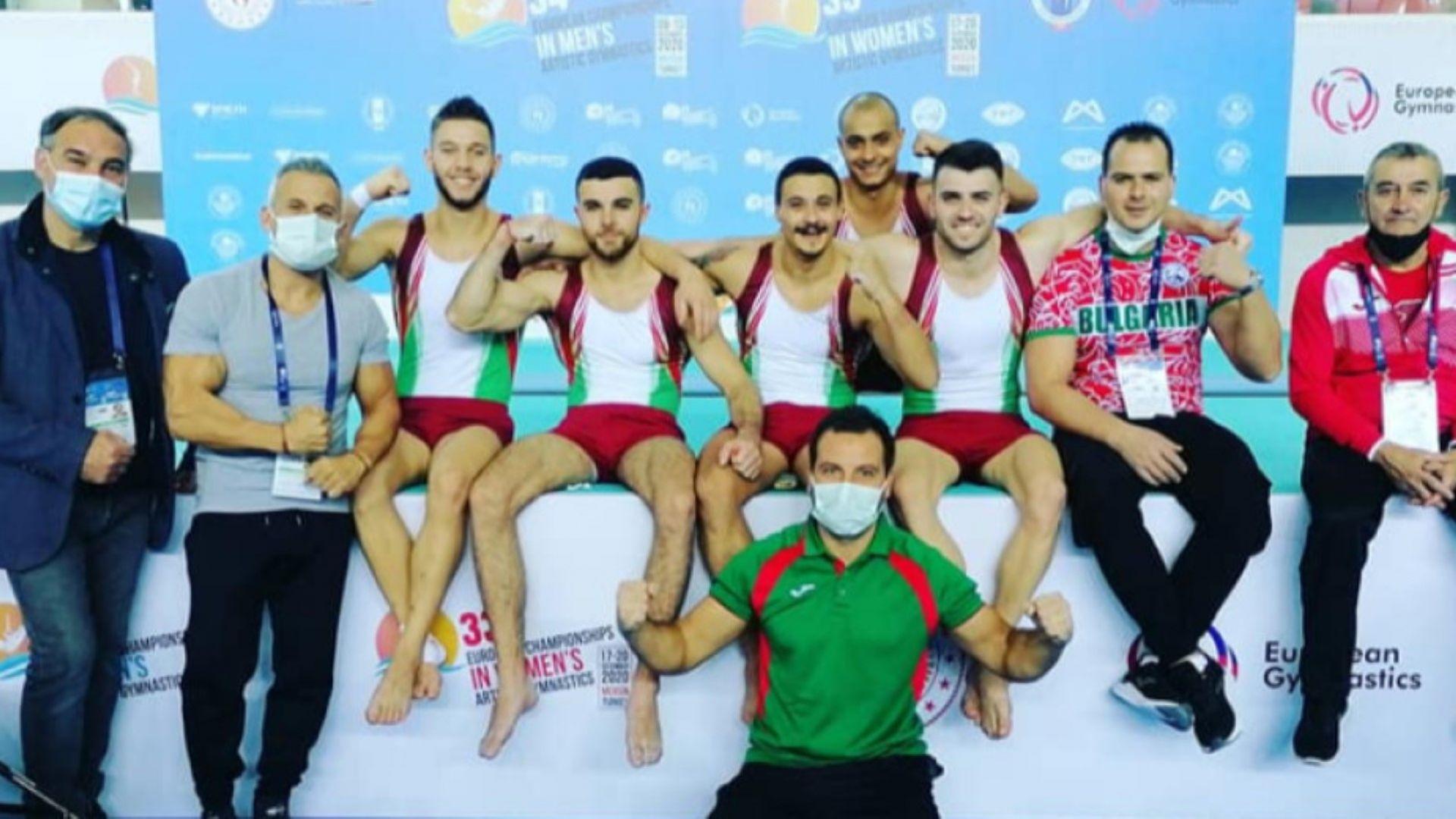 Отлично представяне на гимнастиците и при мъжете на европейското
