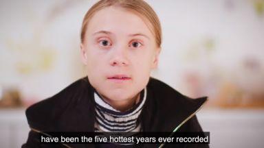 """Грета Тунберг критикува """"празните обещания"""" 5 г. след Парижкото споразумение за климата"""