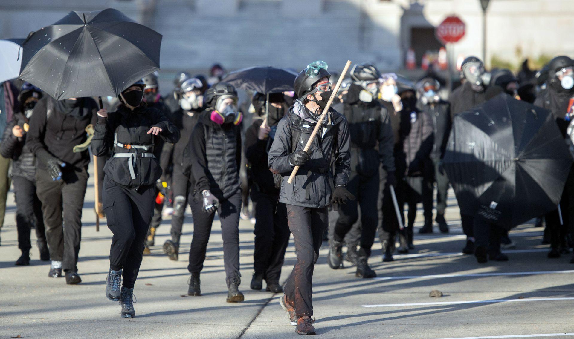 Протести в Олимпия
