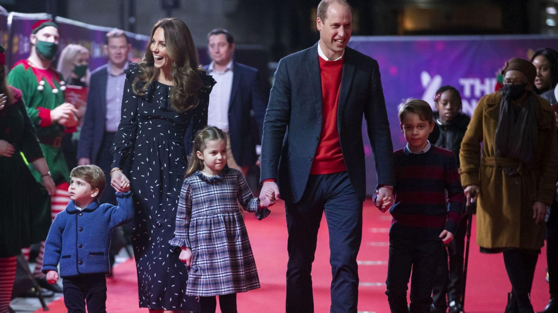 На татко много му липсваш! Децата на Уилям и Кейт с трогателни писма до принцеса Даяна