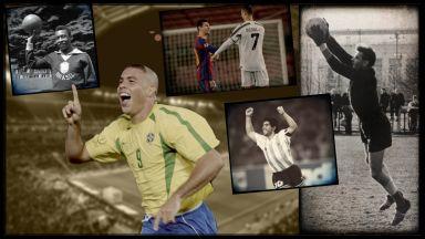 """""""Франс Футбол"""" обяви дългоочакваните идеални 11 на всички времена (Галерия)"""