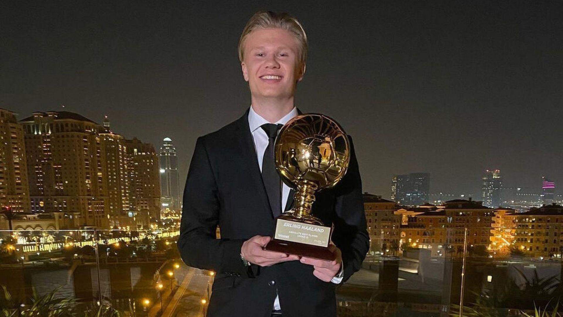 """""""Златното момче"""" във футбола получи своята награда"""