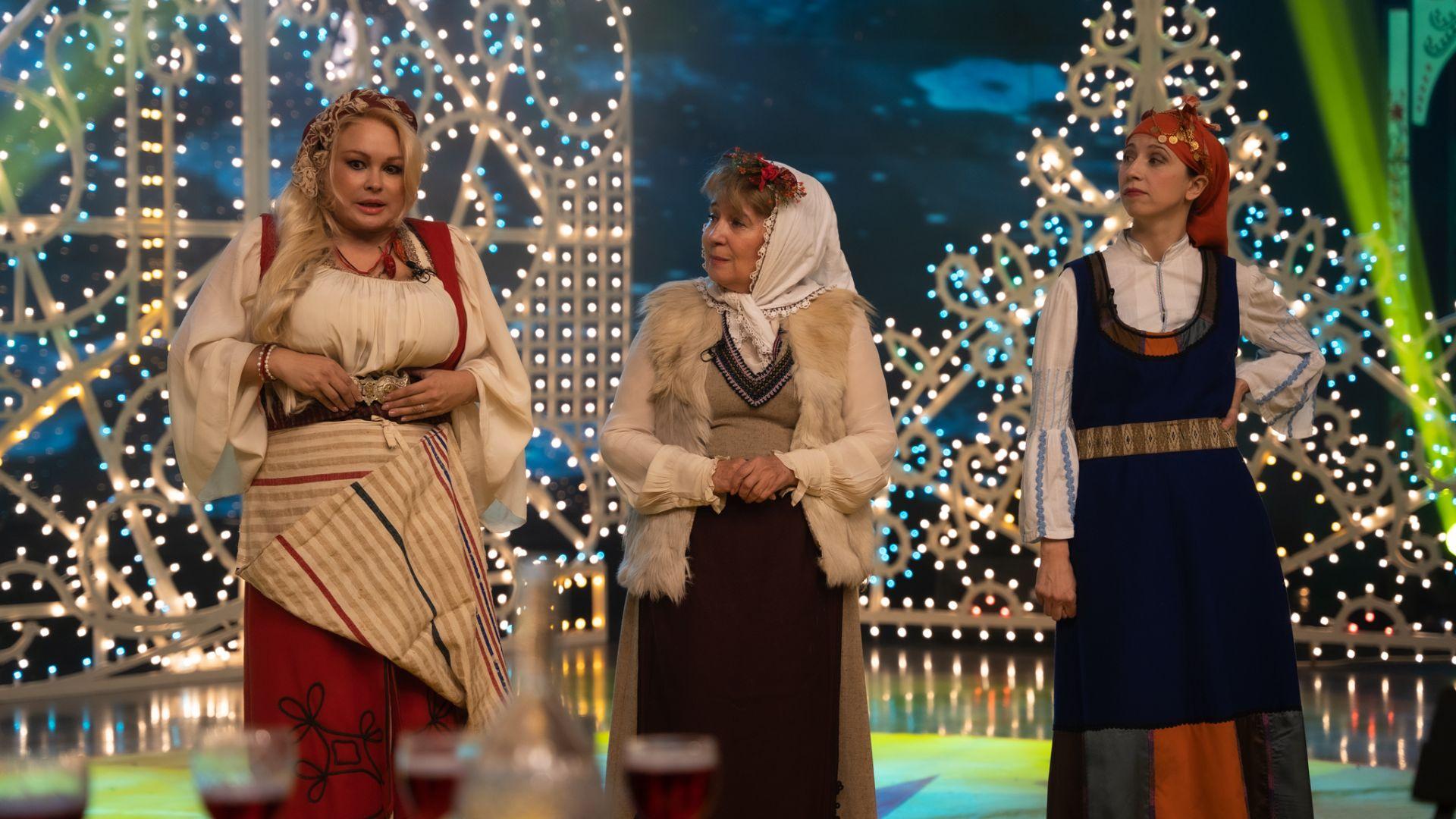 Ани Михайлова, Анна Петрова и Ирина Първанова Раши