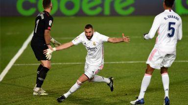 Реал пречупи 10 баски и се изравни с лидерите в класирането