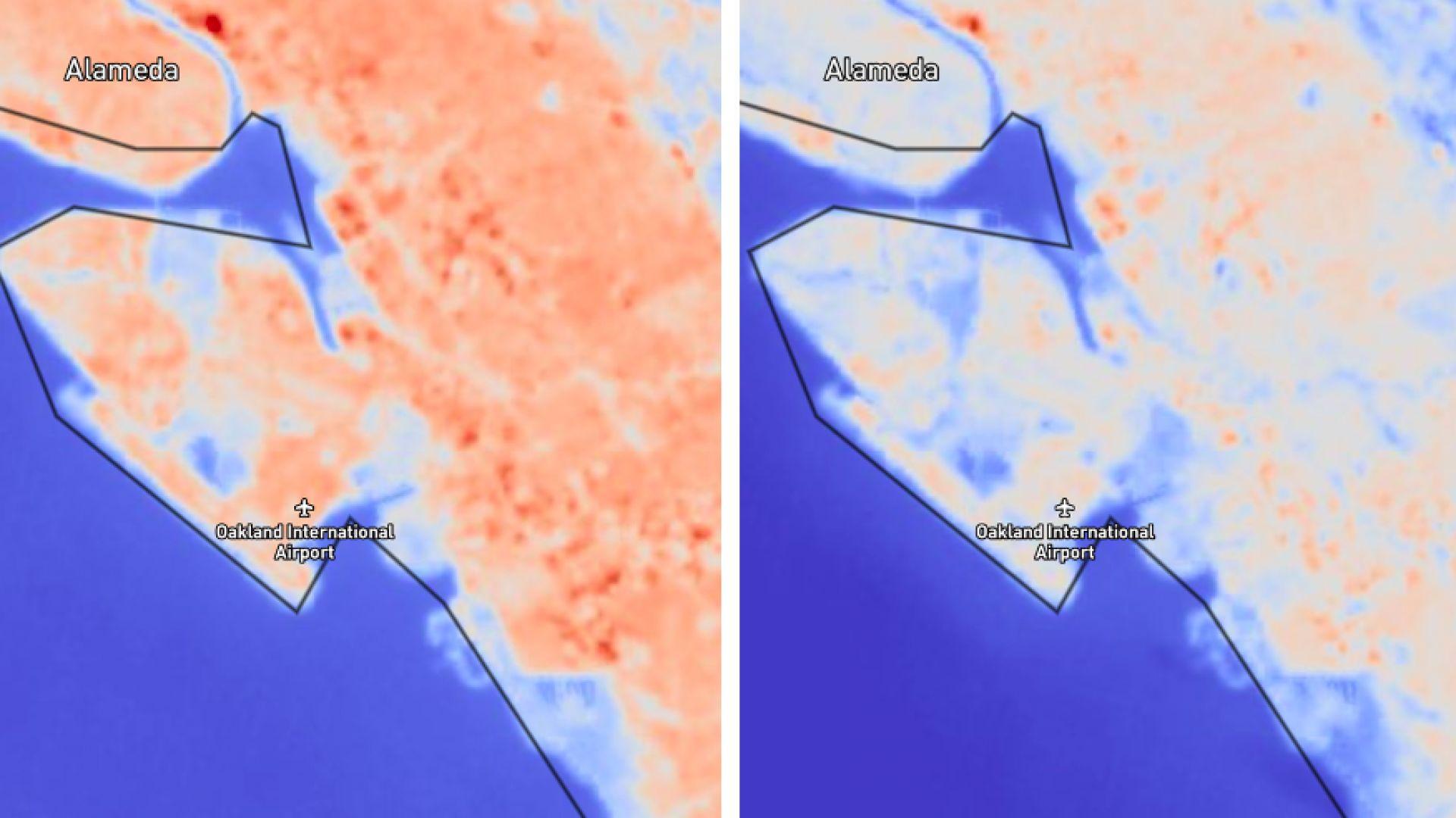 Можем да видим пандемията от космоса, твърди НАСА