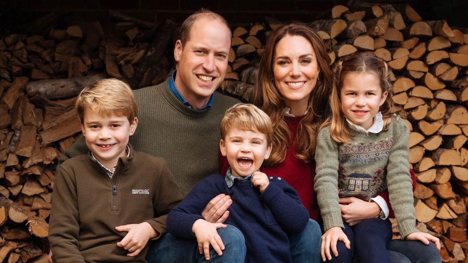 Вижте коледната картичка за 2020 на Кейт и Уилям с трите им деца