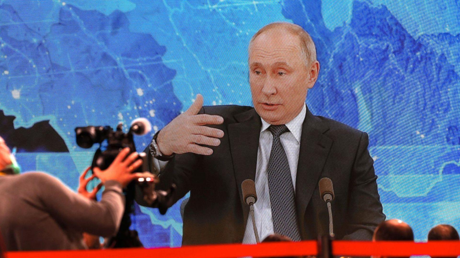 Путин: Интернет гигантите са вече в конкуренция с държавите
