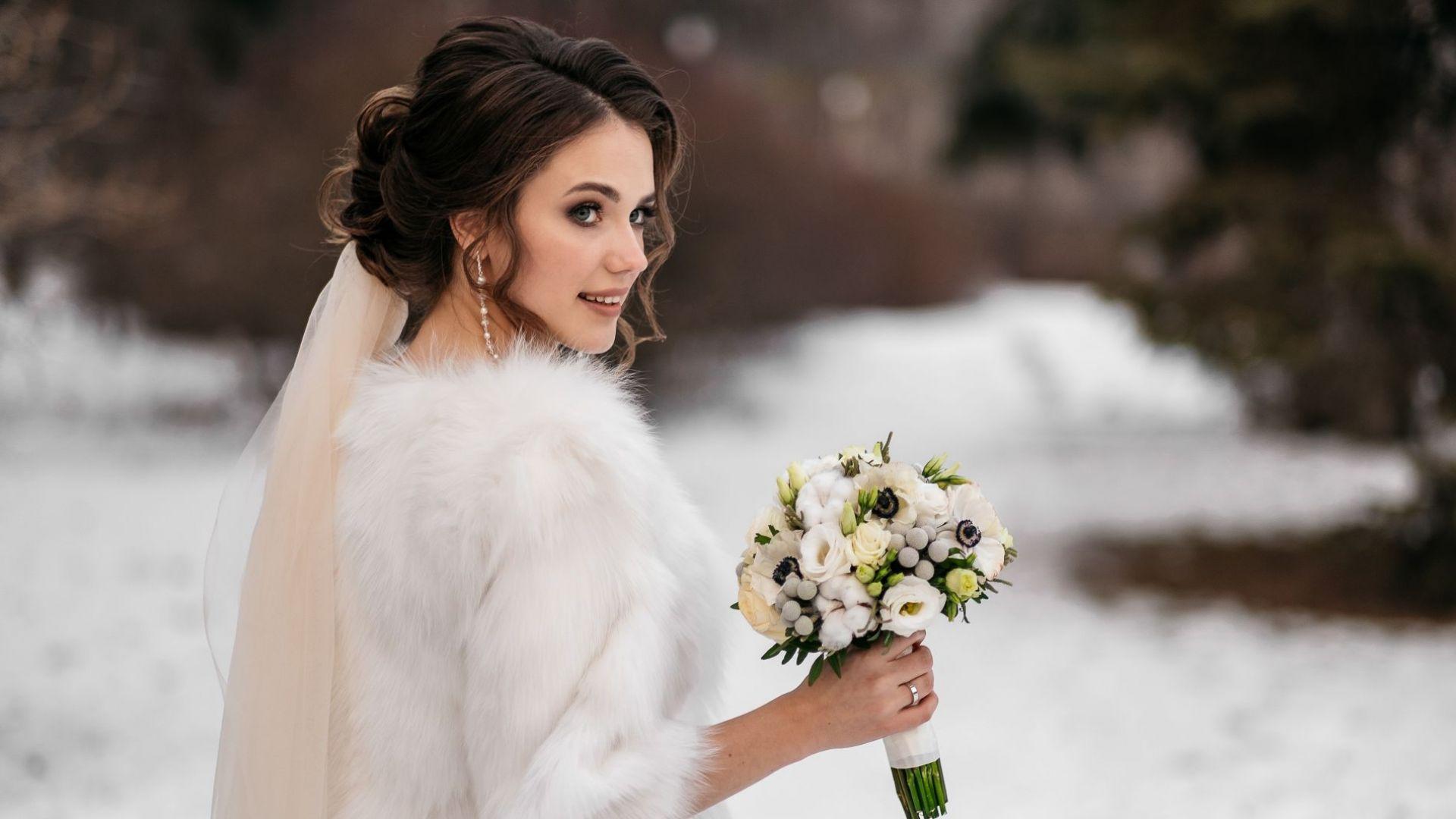 10 правила при избора на сватбена рокля, когато мечатете за зимна сватба
