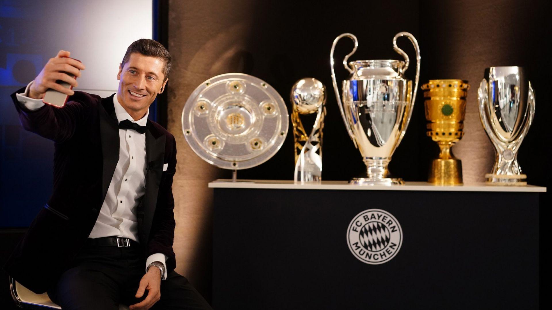 Робърт Левандовски е най-добрият футболист на 2020 година