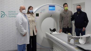 Джокович дари ултрамодерна техника в борбата с ковид на сръбска клиника