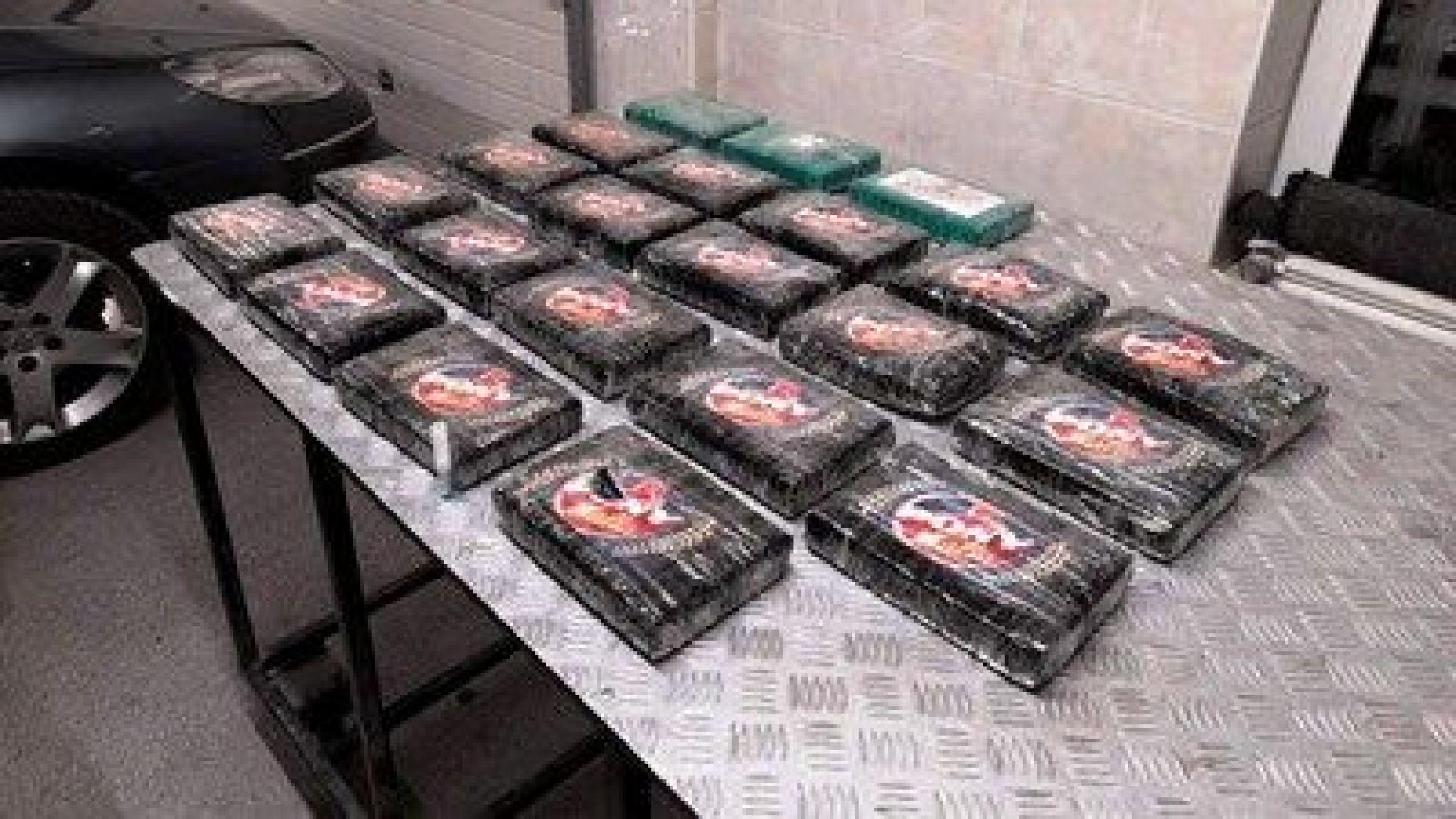 """Митничари от """"Лесово"""" задържаха муле с кокаин за 2 млн. лева"""