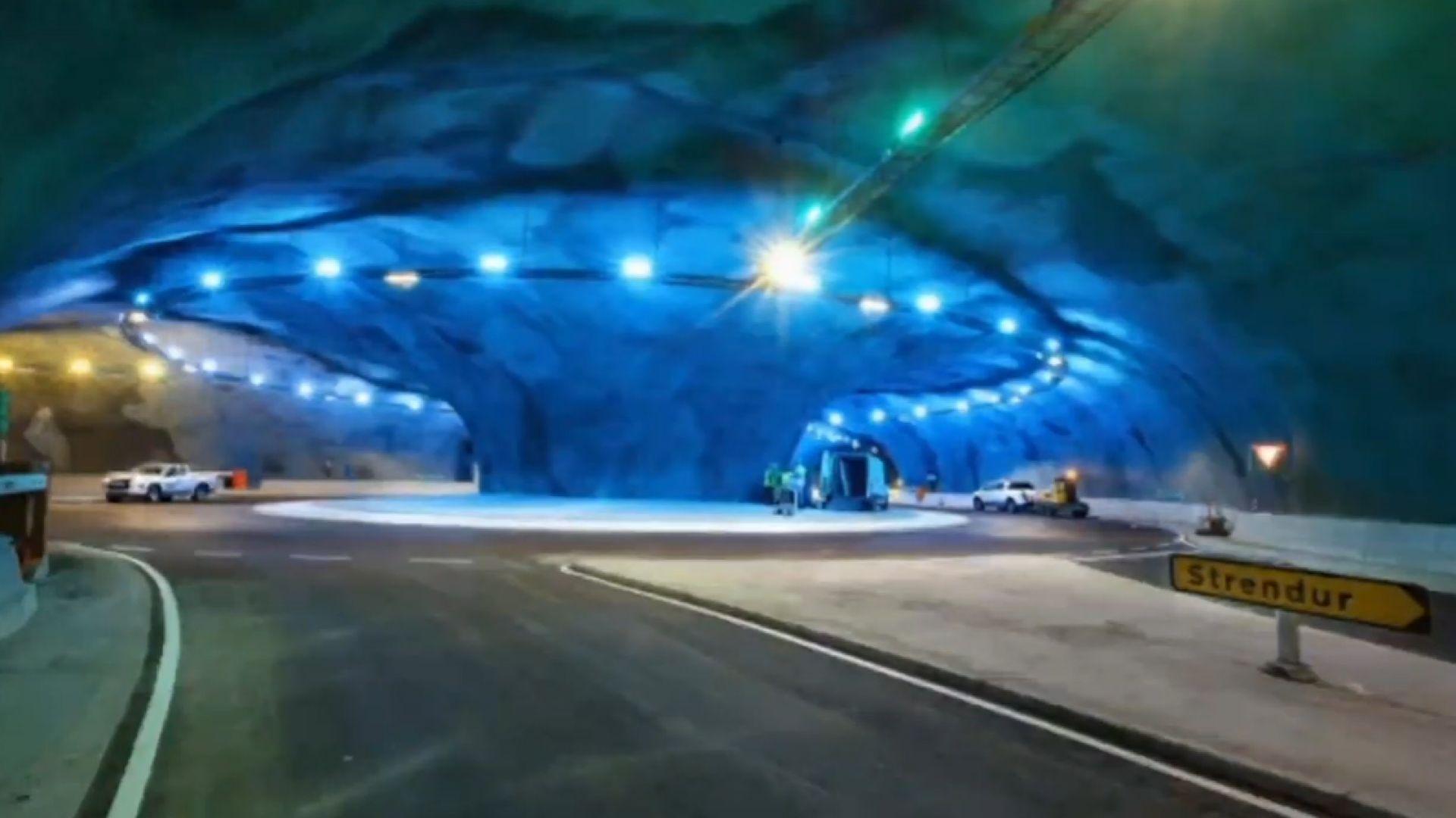 На Фарьорските острови бе открит 11,2-километров подводен пръстеновиден път (видео)