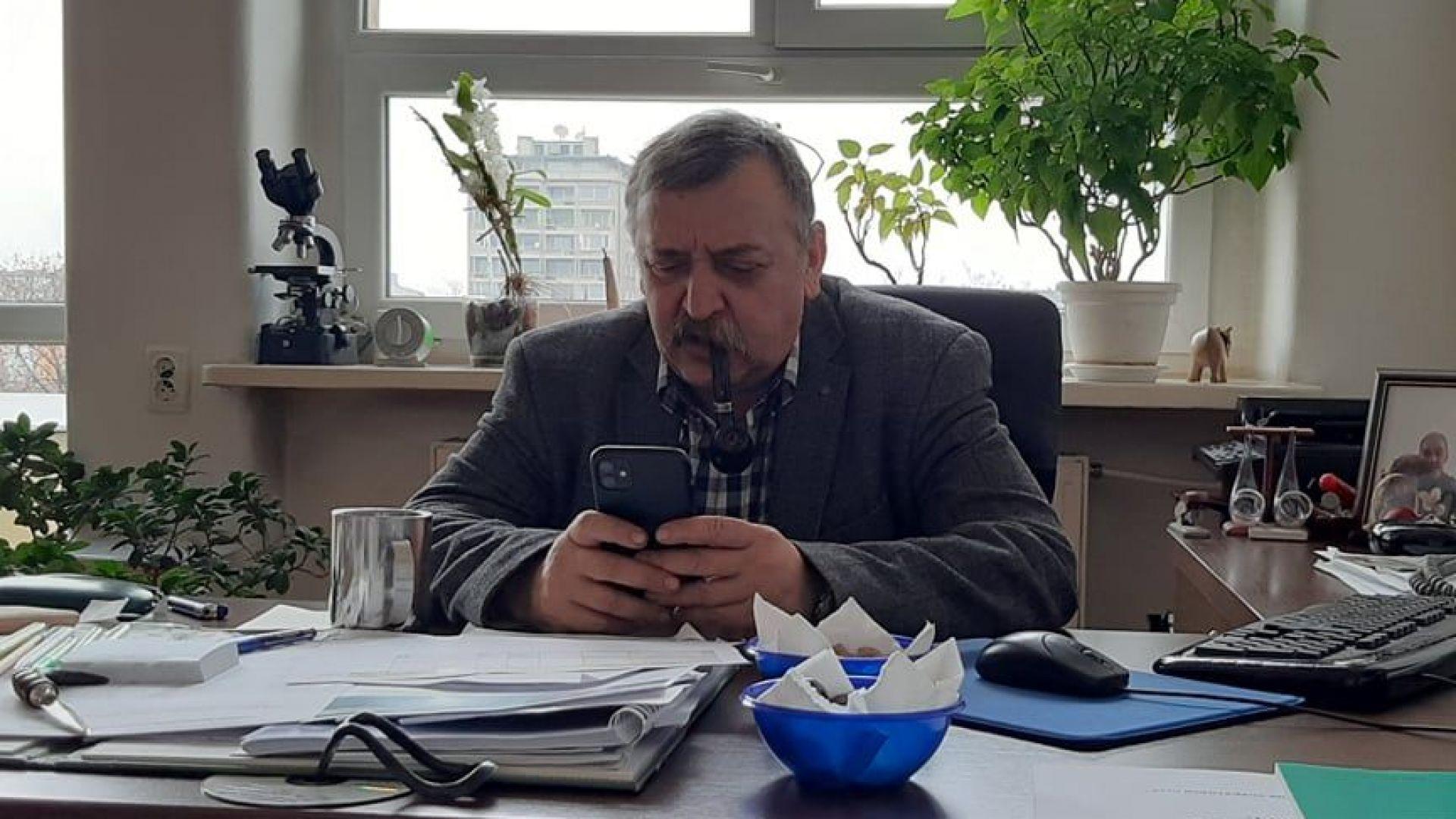 Проф. Кантарджиев пред Dir.bg: Д-р Кацаров ме пенсионира, продължавайте без мен