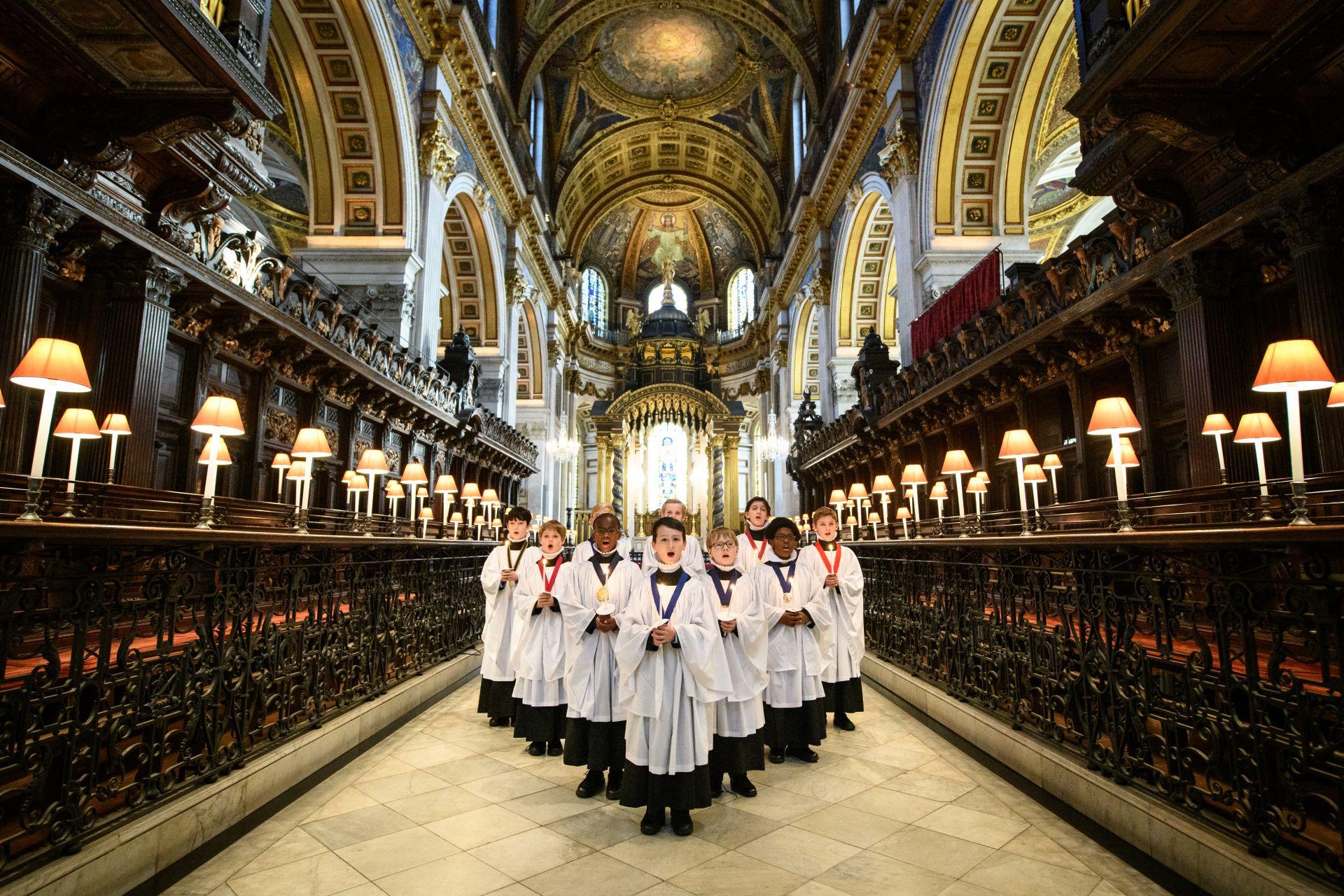 """За първи път Коледната служба на Катедралата """"Свети Павел"""" ще се предава онлайн"""