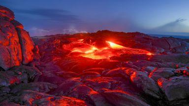 Вулканът Килауеа на Хаваите изригна (видео)