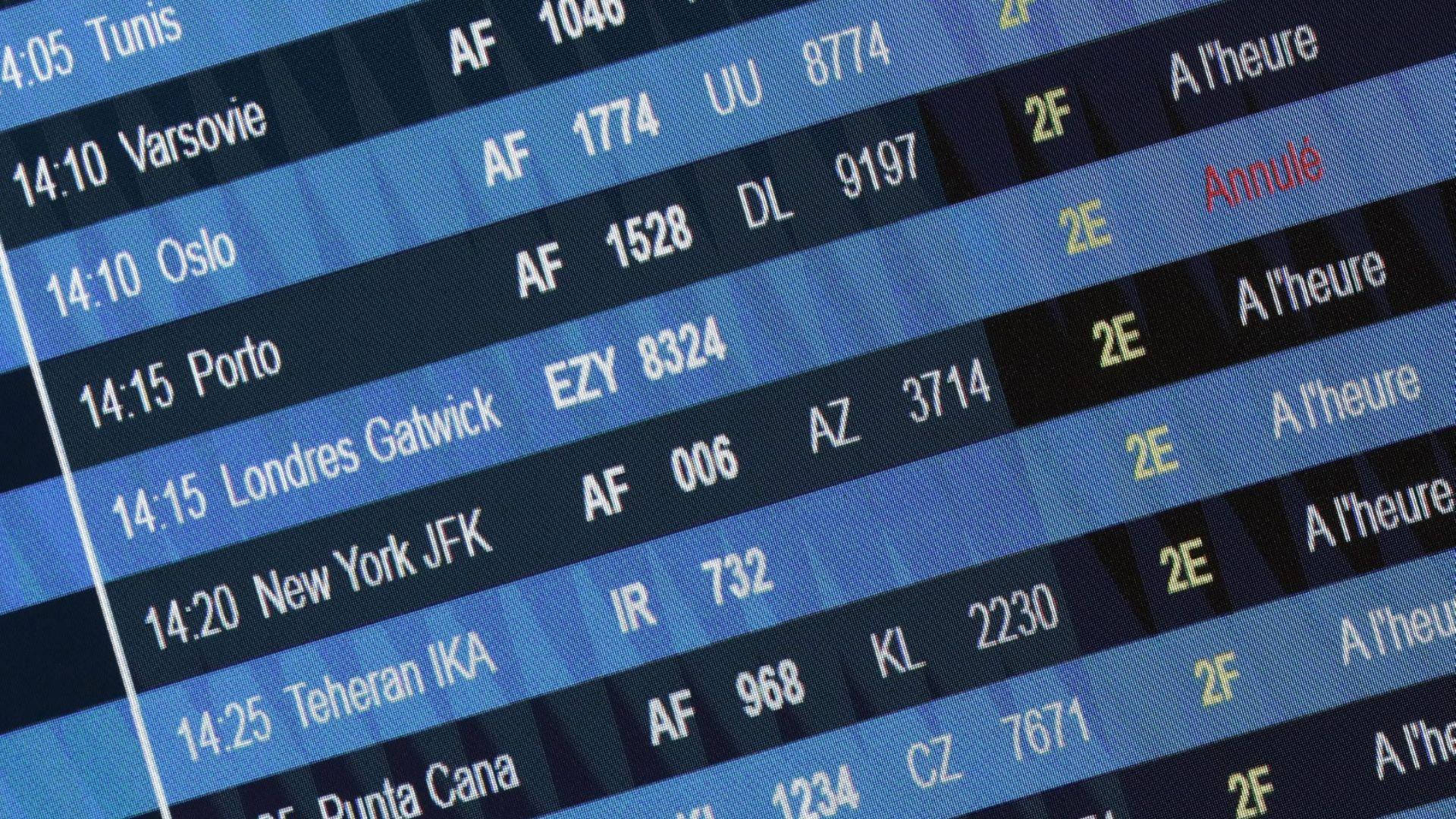 Авиационният сектор потъва на фондовите борси