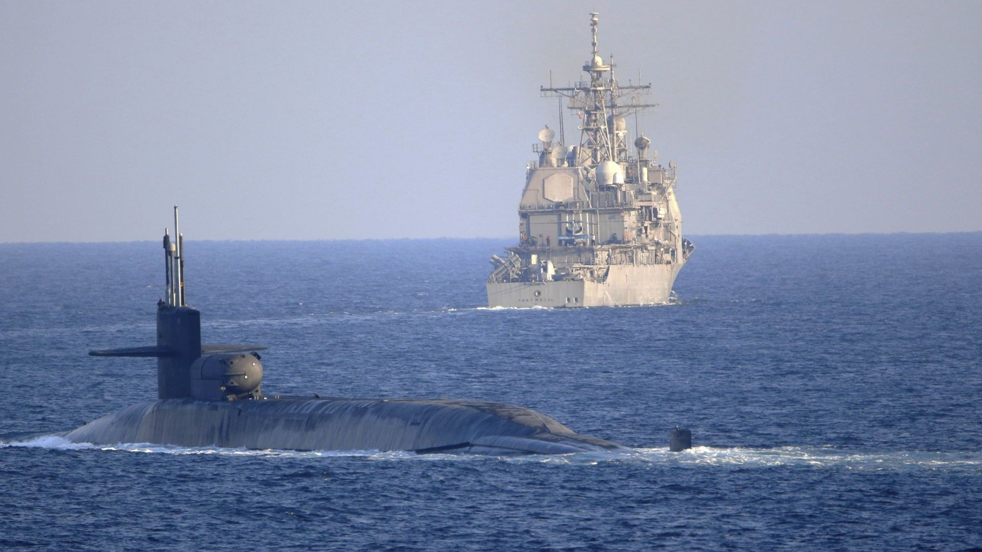 Американска ядрена подводница със 154 крилати ракети пое към Иран