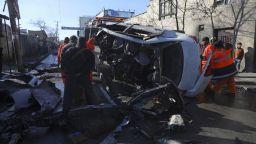 Атентат с магнитна бомба срещу лекари в Кабул взе 5 жертви