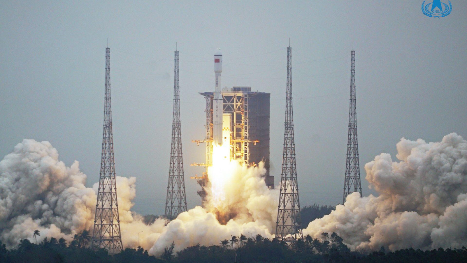 """Китай осъществи първия полет на новата си ракета """"Чанчжън-8"""""""
