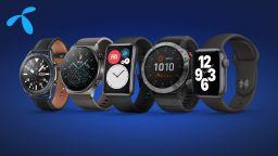 Умните часовници на Huawei, Samsung, Apple и Garmin от Теленор – винаги навреме за Коледа