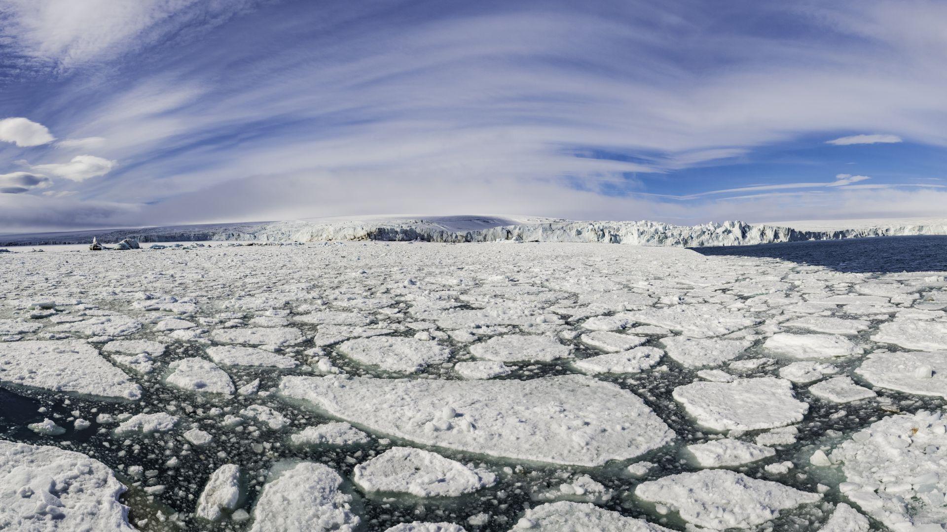 Морската вечна замръзналост съдържа 60 милиарда тона метан