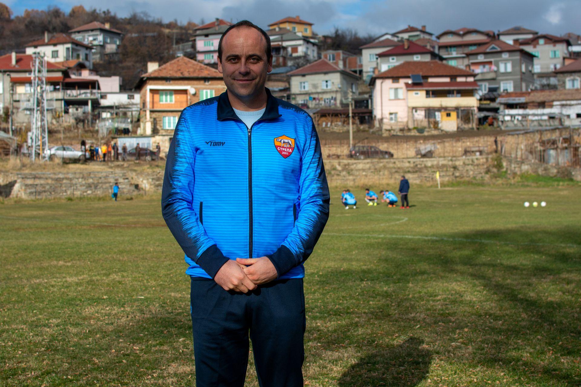 """Хамид Даутев - капитан, голмайстор, а вече и треньор на """"Стрела"""""""