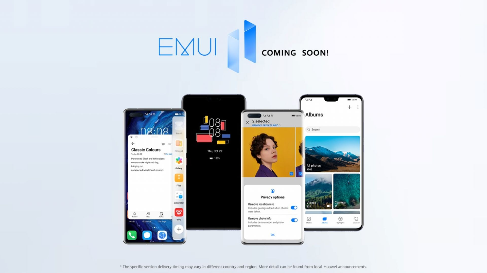 Huawei обяви кои модели и кога ще получат EMUI 11 в България