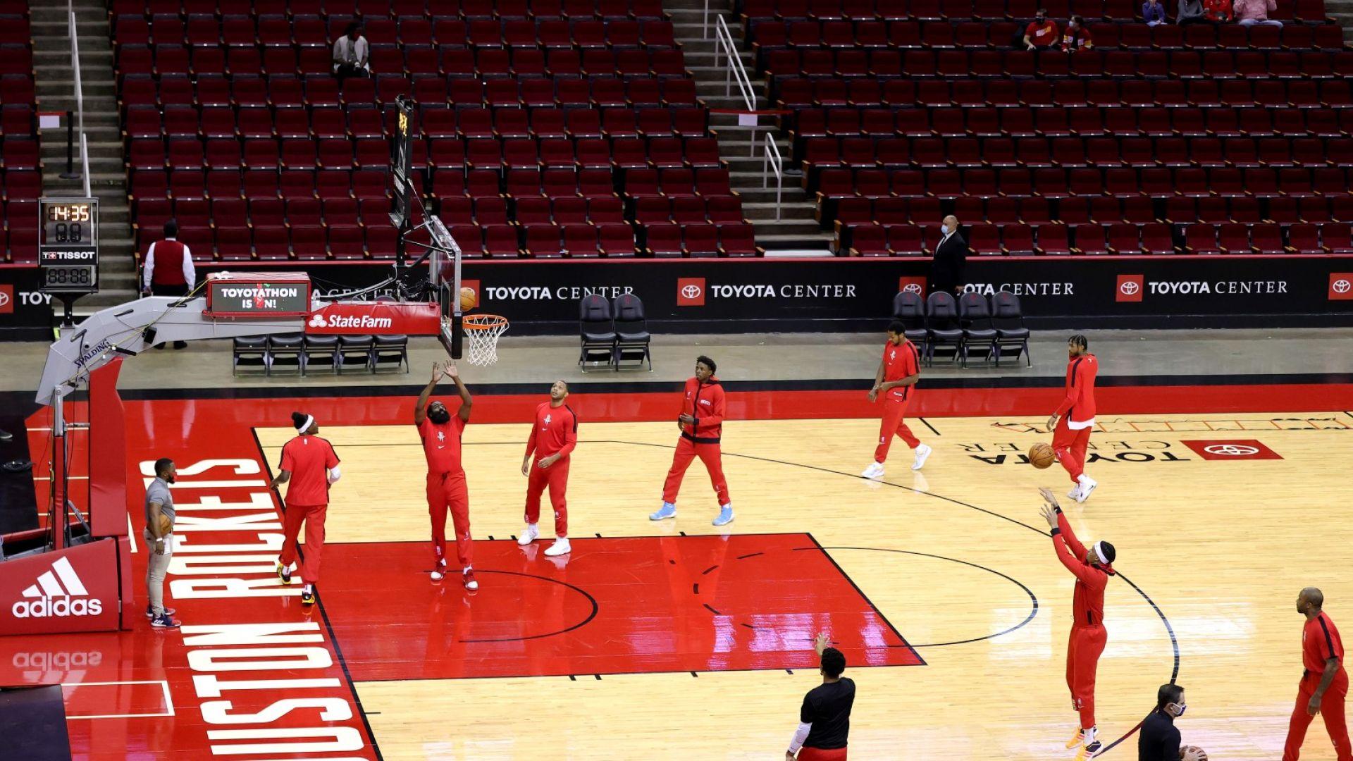 Мач от новия сезон в НБА пропадна, Хюстън не събра играчи