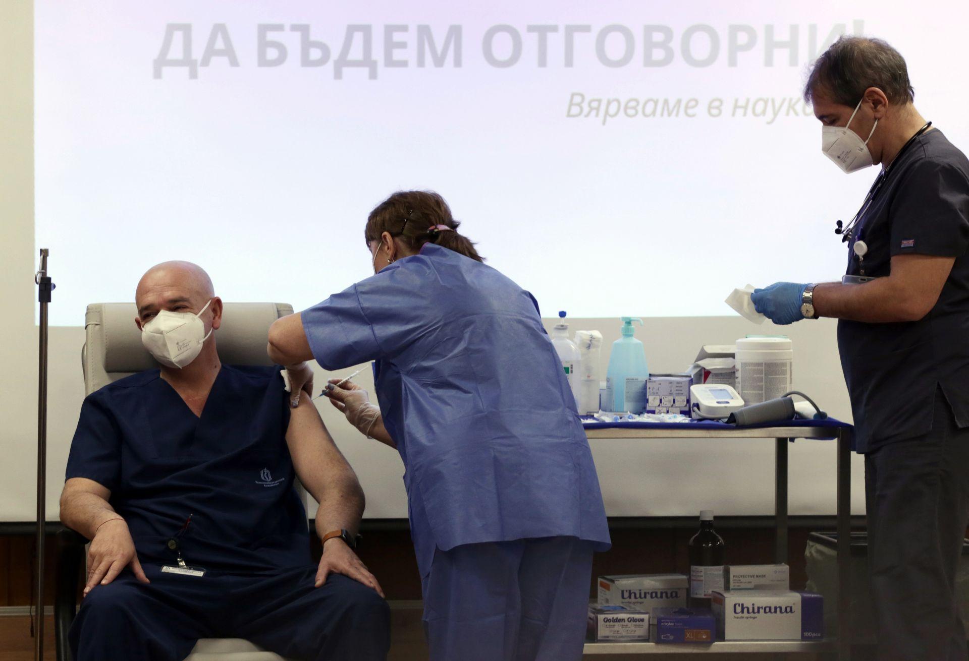 Венцислав Мутафчийски беше имунизиран във ВМА