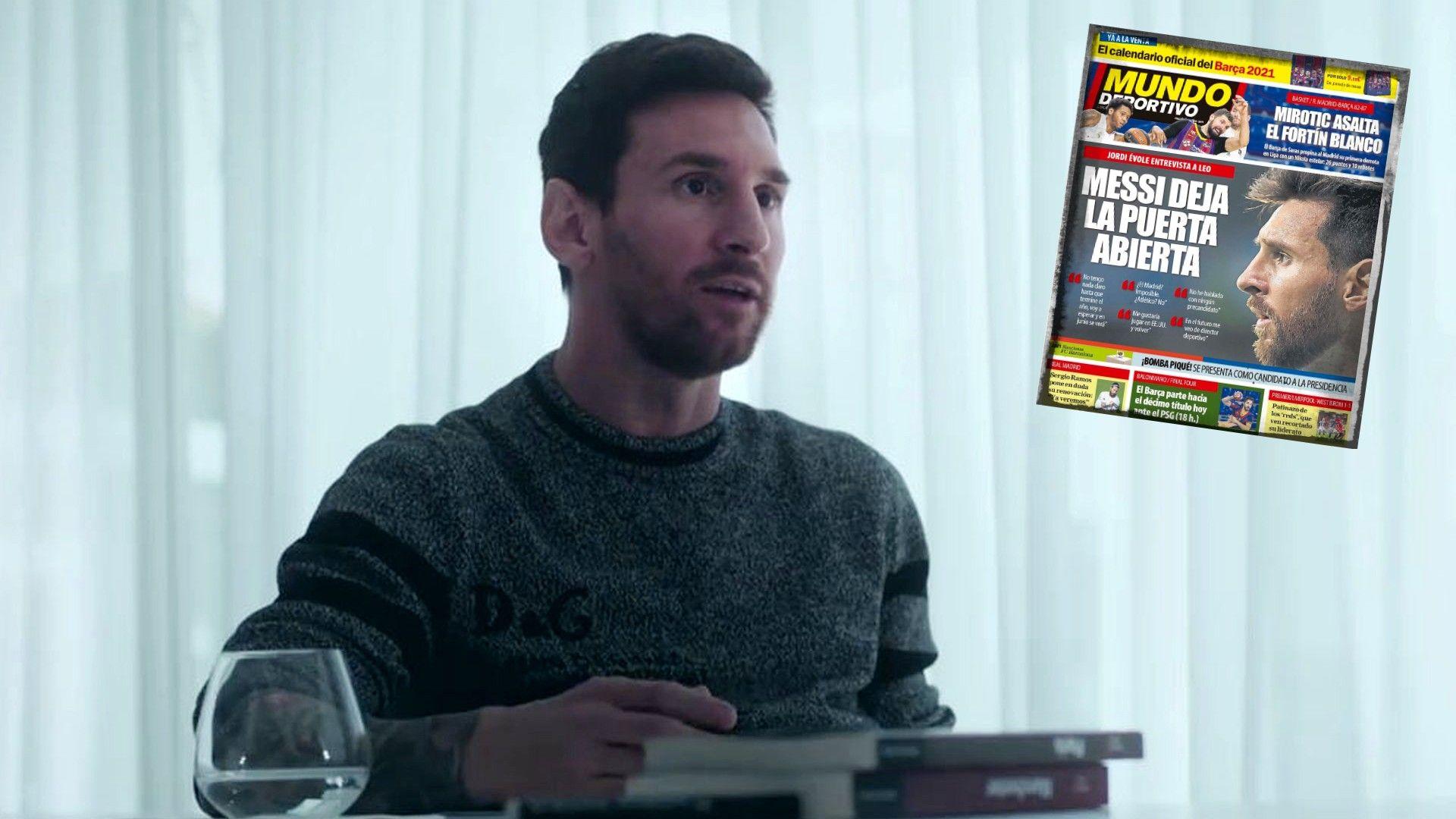 Интервюто на Меси: Може ли да иде в Реал, вижда ли се треньор и би ли пратил пак онзи факс?