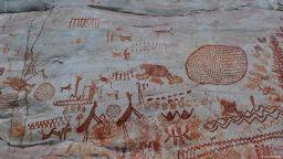 Скални рисунки от ледниковия период бяха открити в Колумбия