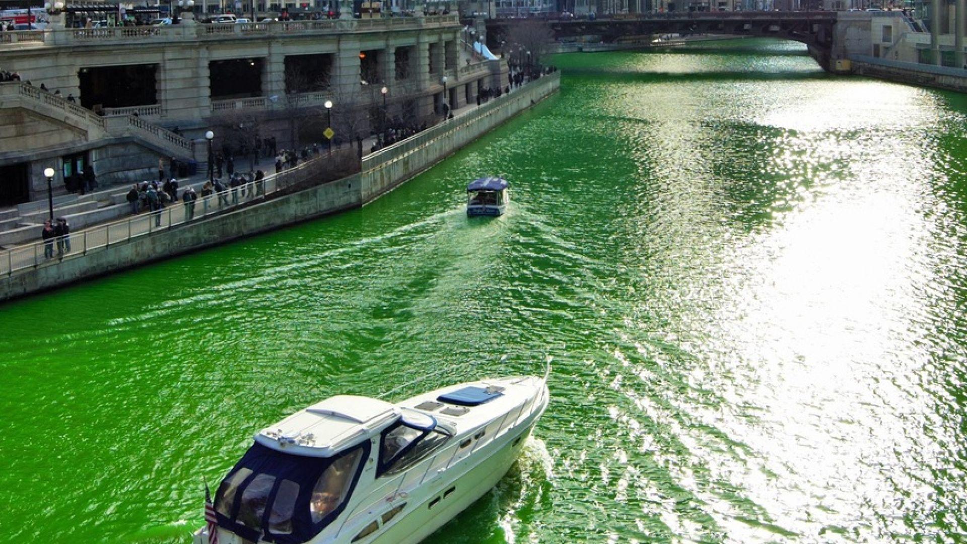 Реки в САЩ променят цвета си