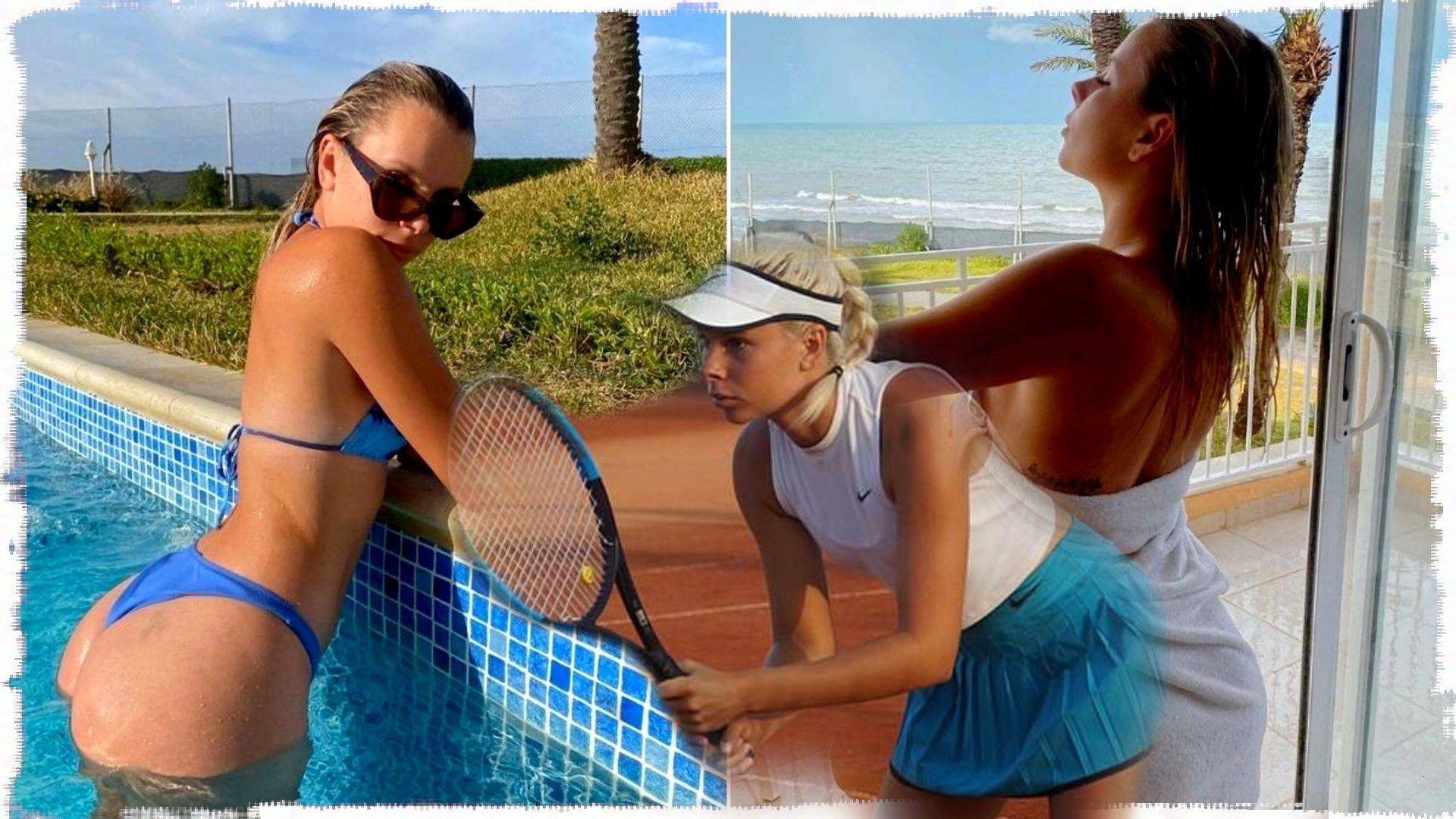 Австралийска тенисистка стана хит в платен сайт с еротични снимки и видеа от немотия