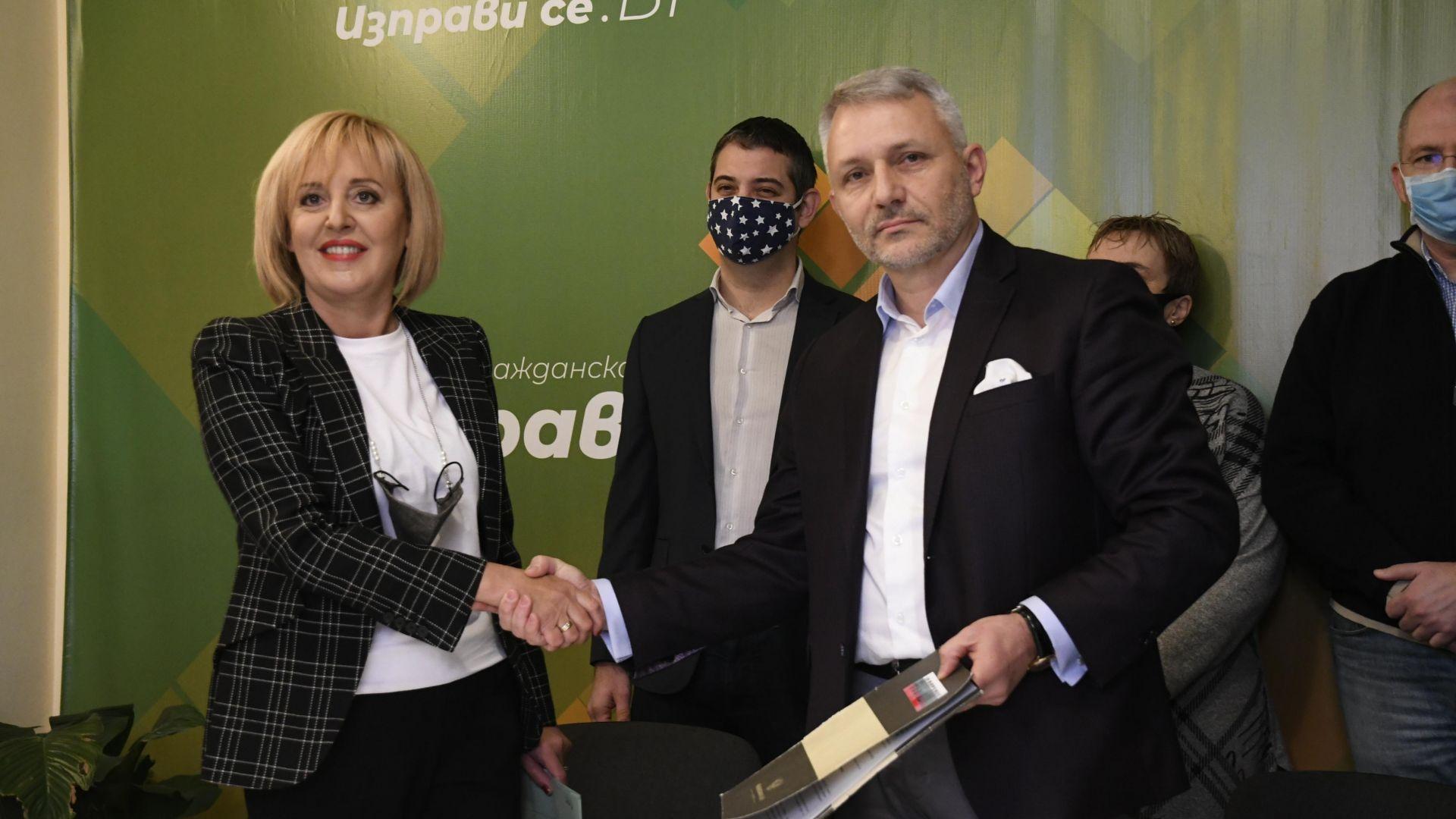 Отровното трио и Мая Манолова отиват на избори заедно (видео/снимки)