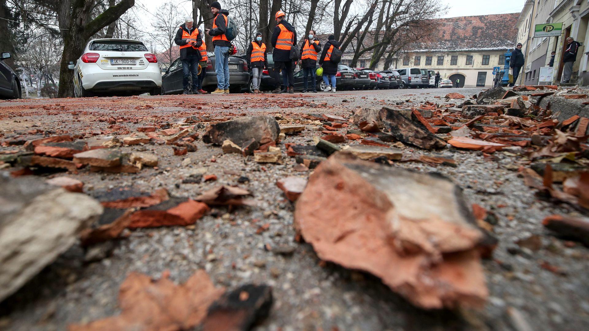 Българин, който живее край червената зона в Хърватия, не иска да се евакуира