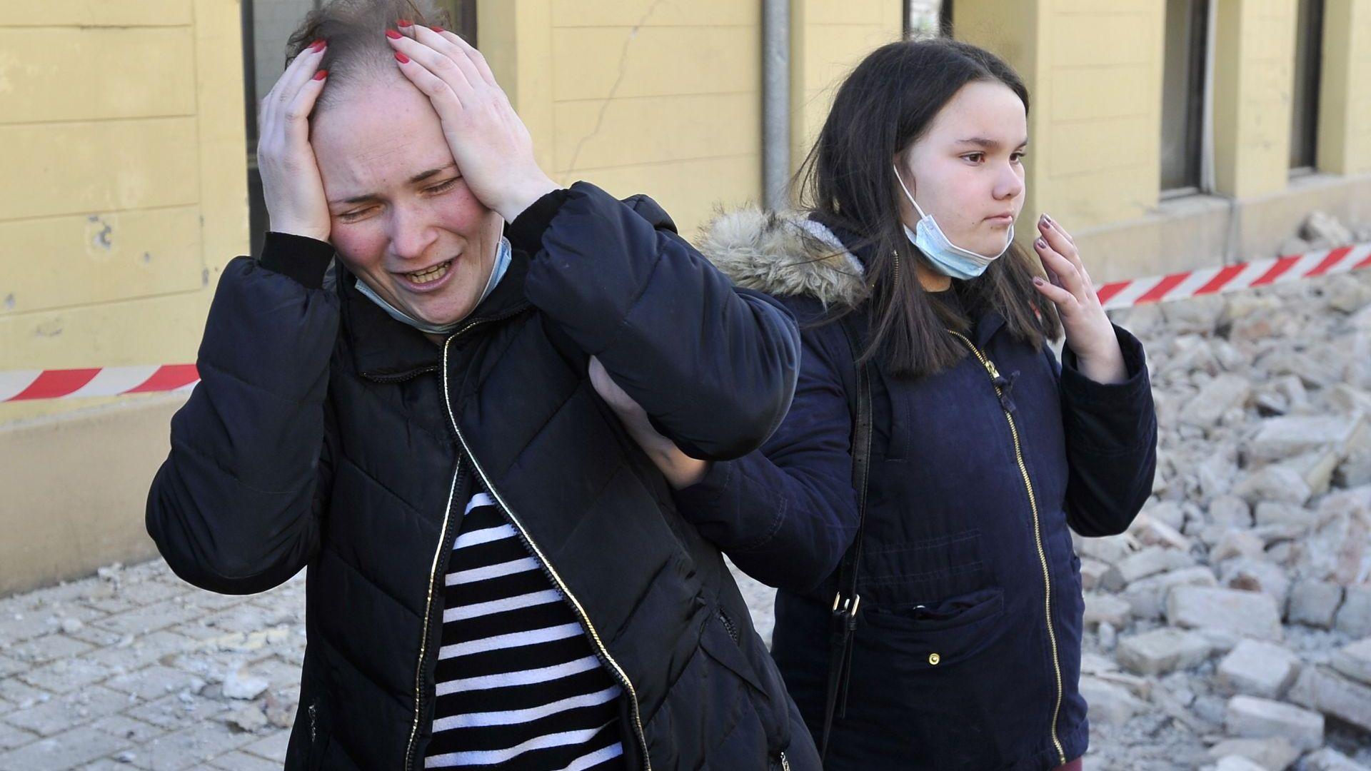 Най-малко 6 са жертвите на труса в Хърватия. Кмет: Като в Хирошима е (снимки, видео)