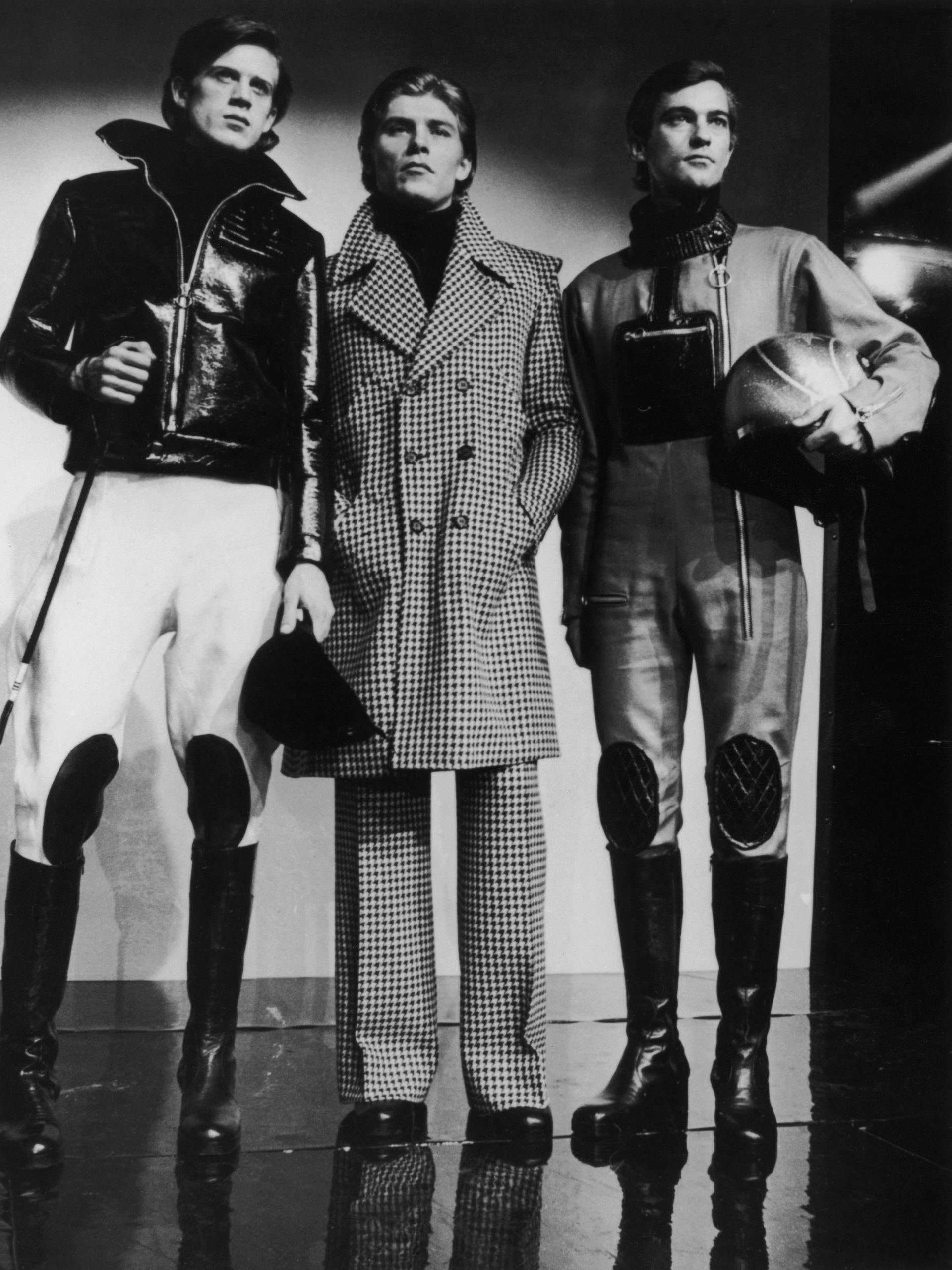 Спортни облекла за мъже - колекция на Карден от 1963 г.