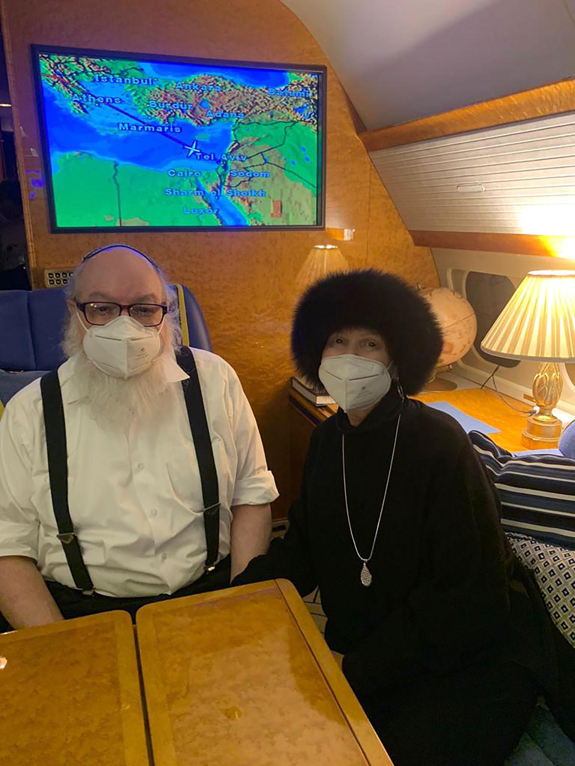Полард и съпругата му пристигнаха в Израел с частен полет