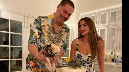 Джо Манганиело отпразнува 44-ти рожден ден със София Вергара и любимото си куче